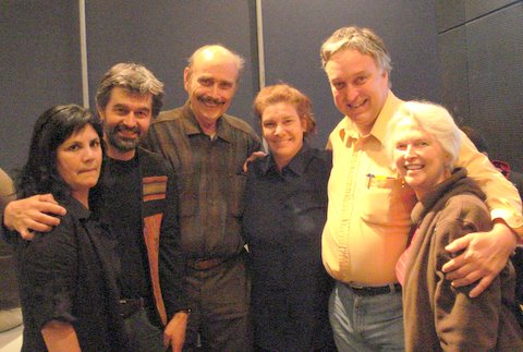 Celia Hart, May 2008, w. James, Jean Pierre, Susan, Pierre, Cecelia