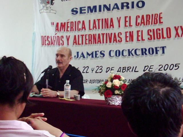 Cockcroft seminar in Chilpancingo