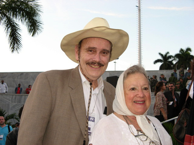With Nora Cortinas of Argentina 2006