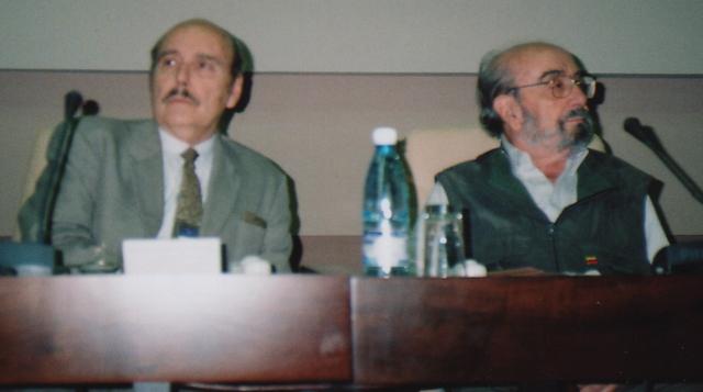 With Alfonso Sastre of País Vasco