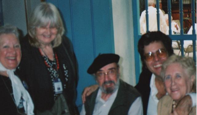 Nora Cortinas, Eva Forest, Alfonso Sastre, Abel Prieto, Stella Calloni 2006