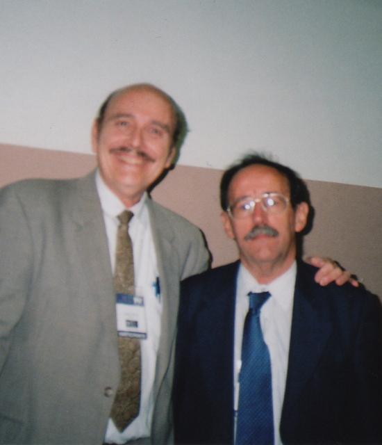 With Dr. Agustín Lage Dávila of Cuba