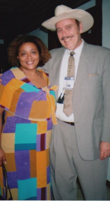 With Miriam Morales Palmero of Cuba