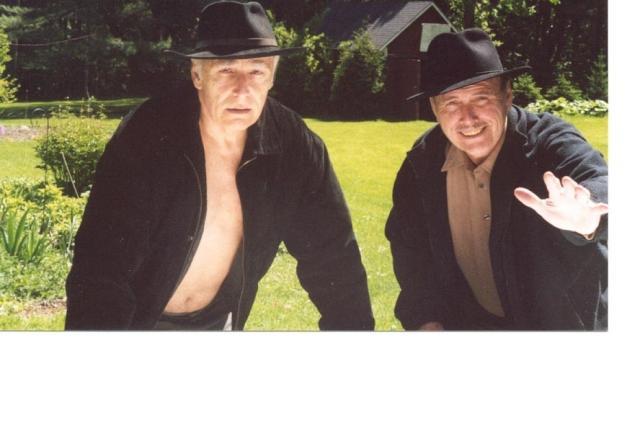 Cockcroft with brother George aka Luke Rinehart