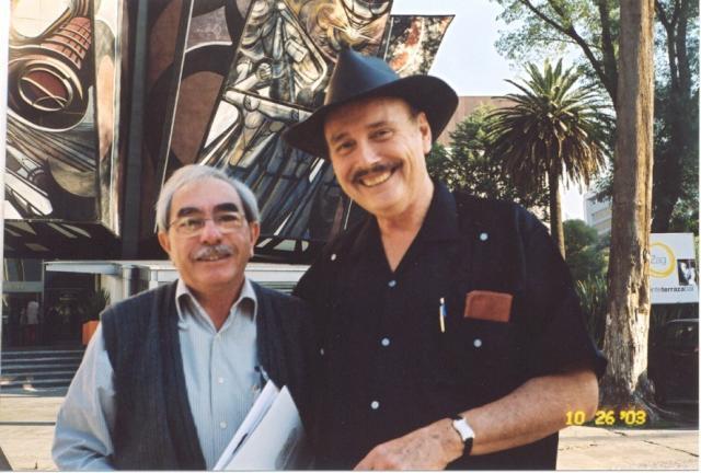 "w. Osvaldo ""Chato"" Peredo, of Bolivia, 2003"